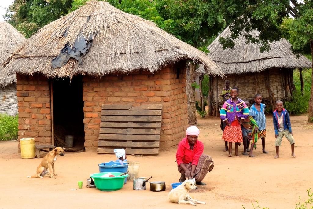 Kachipu Village Sambia