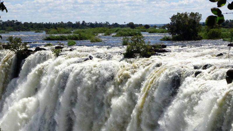 Victoriafälle, Livingstone, Sambia.