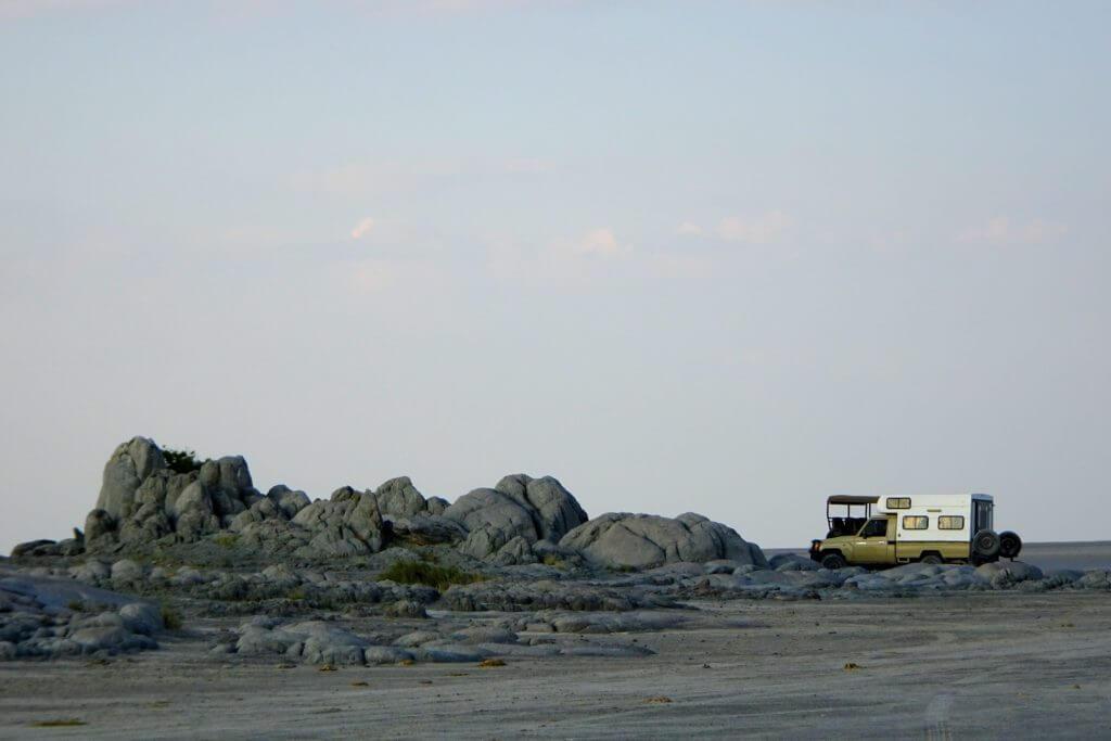 Ausläufer von Kubu Island