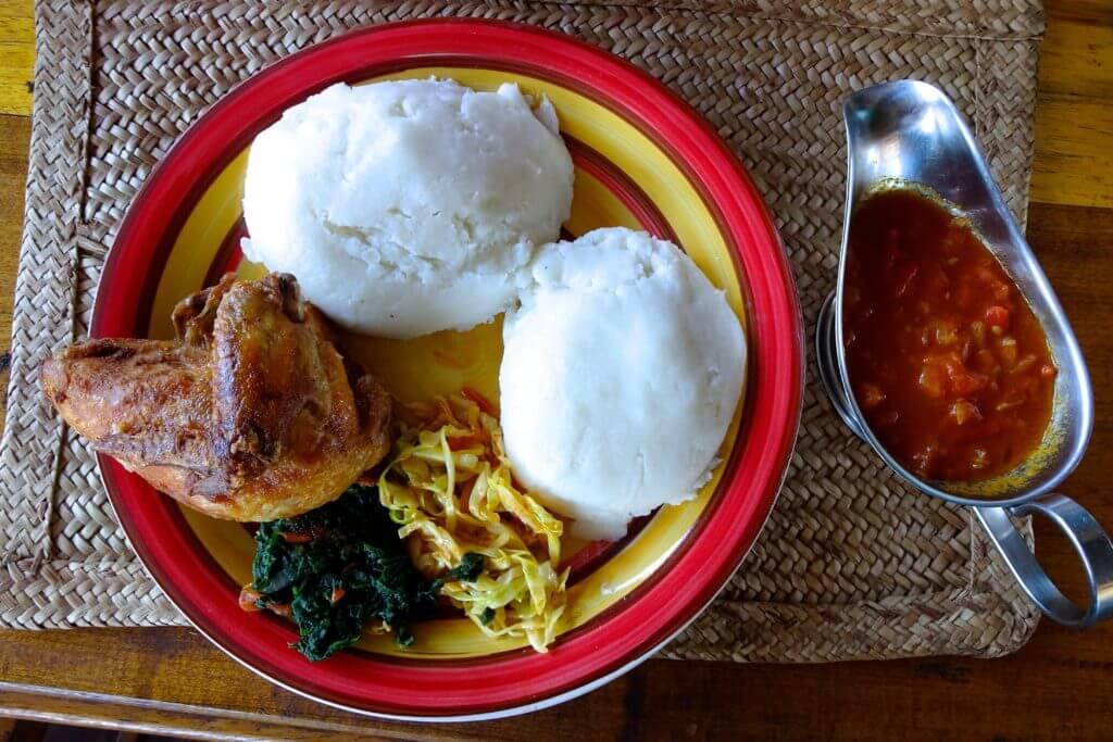 Reisetipps Sambia: Nsima, klassisches Gericht