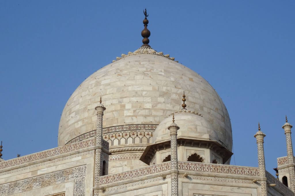 Kuppel des Taj Mahal