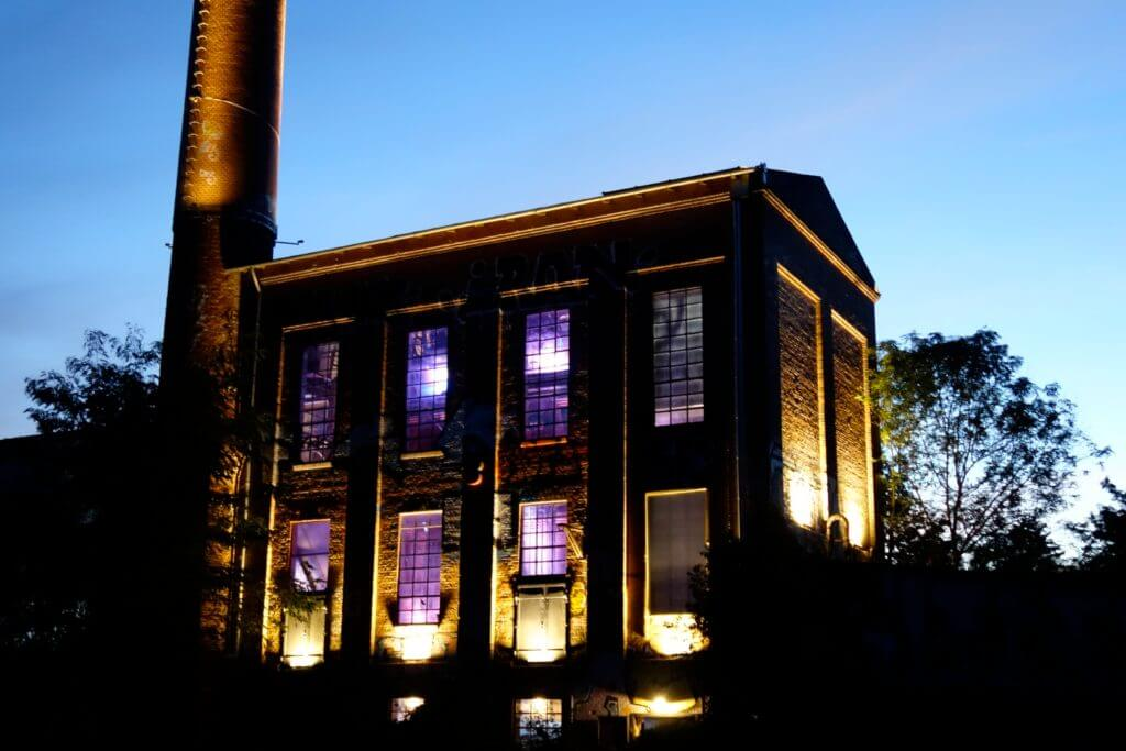 Hannover, Kesselhaus der Bettfedernfabrik Werner & Ehlers in Linden