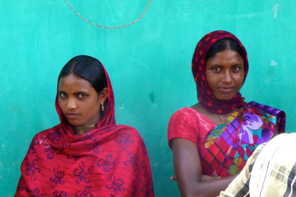 Kultur in Indien: indische Frauen im Bundesstaat Chhattisgarh