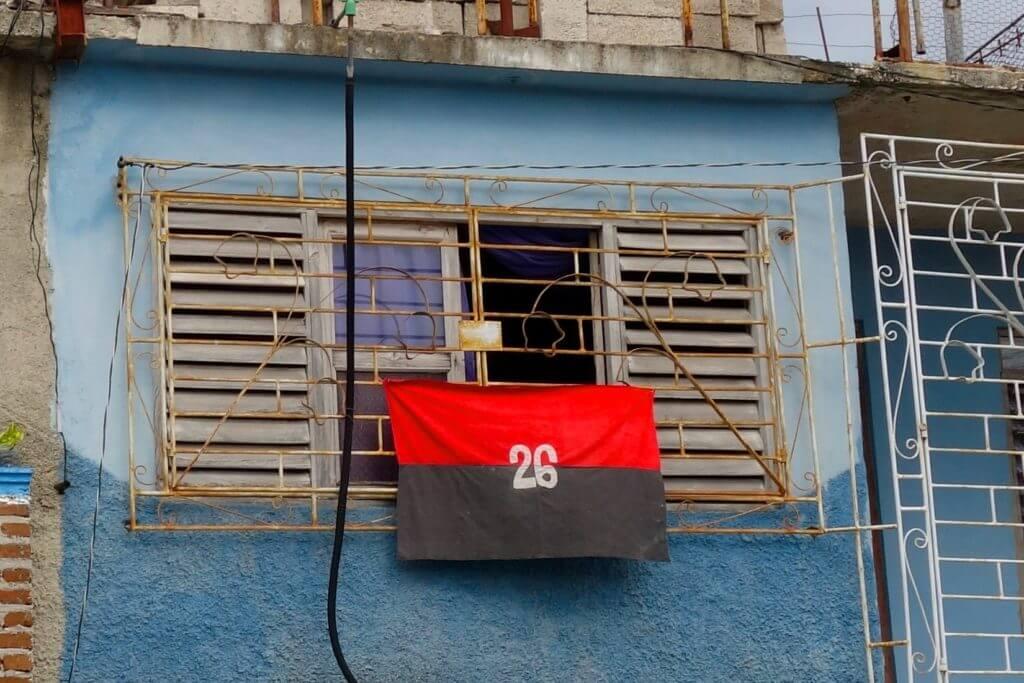Fahne der Bewegung des 26. Juli, M-26-7