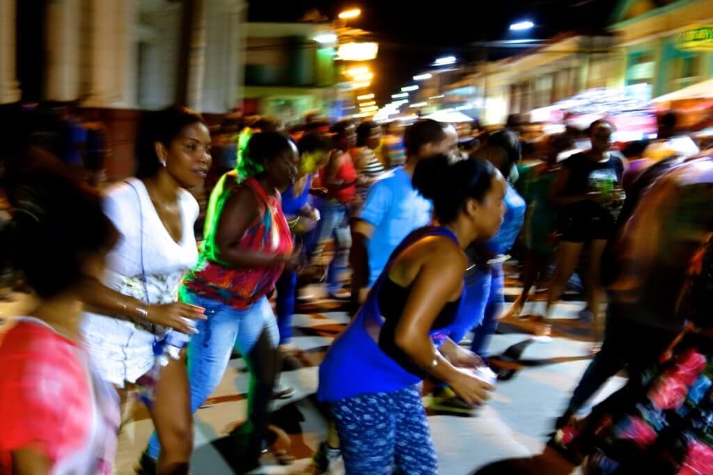 Straßenfest Noche Guantanamera in Guantánamo