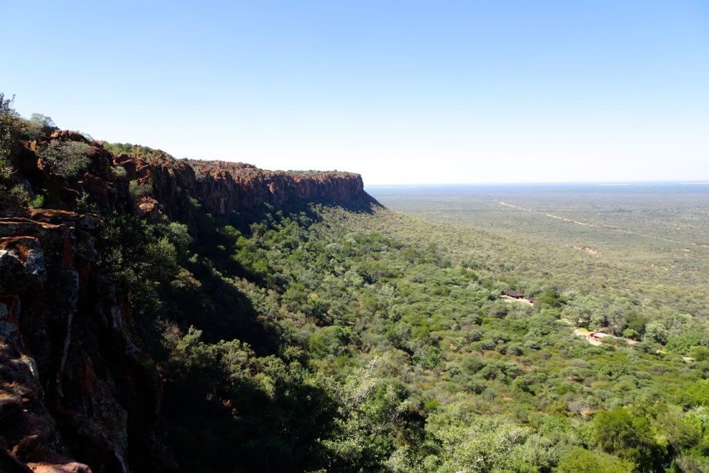 Jahresrückblick Reiseblog Groovy Planet, Blick vom Waterberg, Namibia