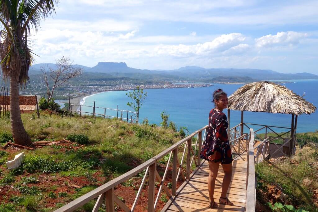 Casa Particular in Baracoa. Mirador Majayara: schönster Aussichtspunkt in Kuba.
