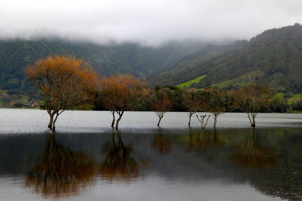 Kratersee Lagoa das Sete Cidades.