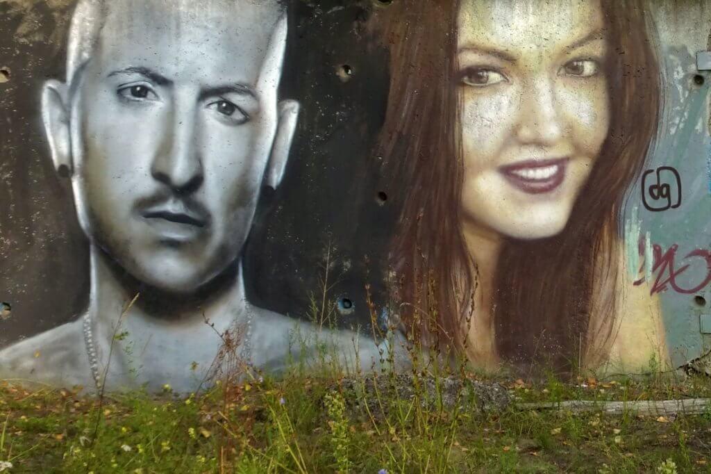 Street Art in Kasan. Kunstwerk von Damir Daxov.