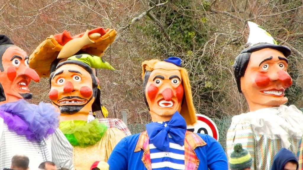 Karneval in Ovar, Portugal.