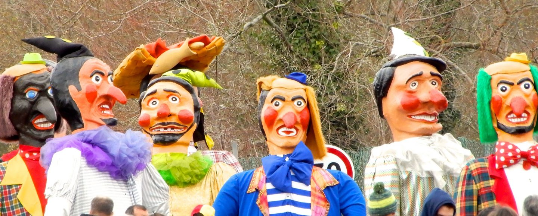 Karneval in Ovar, Portugal.