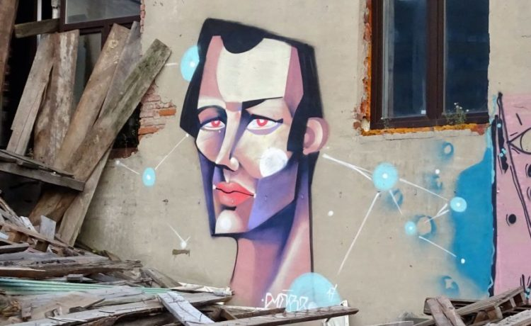 Street Art in Kasan, Tatarstan.