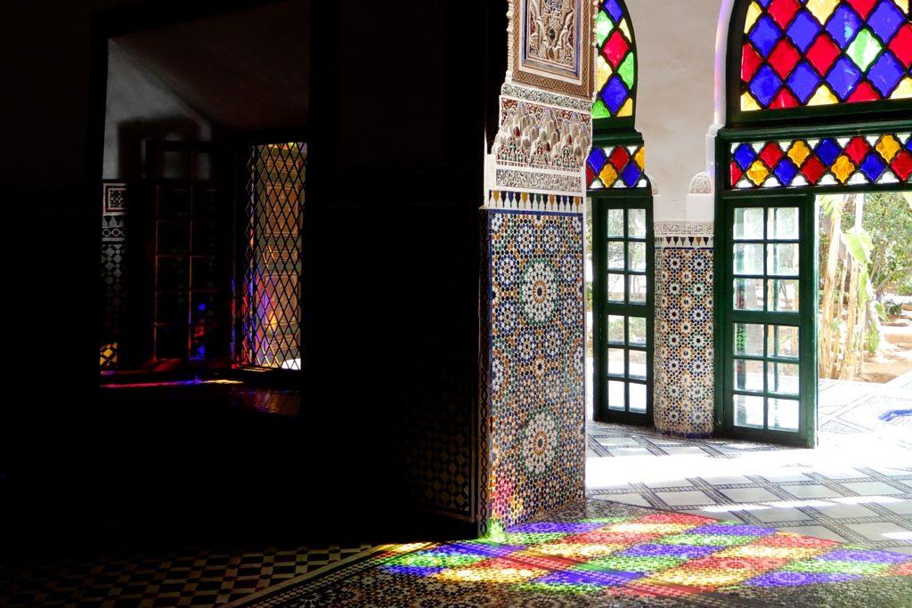 Bahia Palast, Marrakesch. Spiel mit dem Licht als Teil islamischer Baukunst.