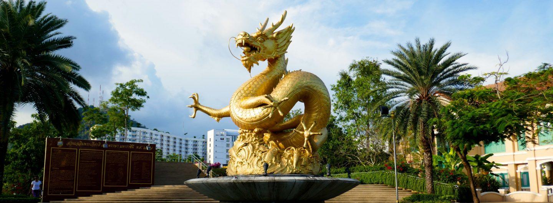 Vis-à-vis vom goldenen Drachen: der Indy Market in Phuket Town