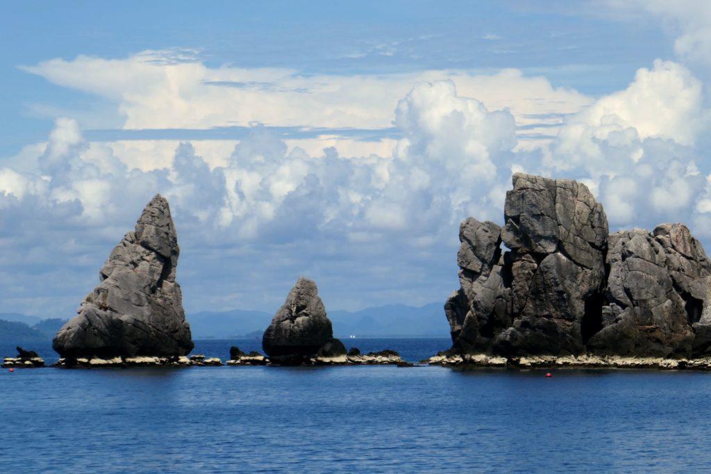 Chumphon. Vorgelagerte Inseln an der Küste.