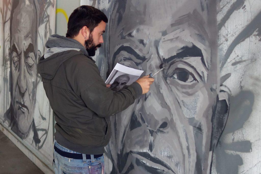 Künstler Frederico Draw, eigentlich Frederico Soares Campos.