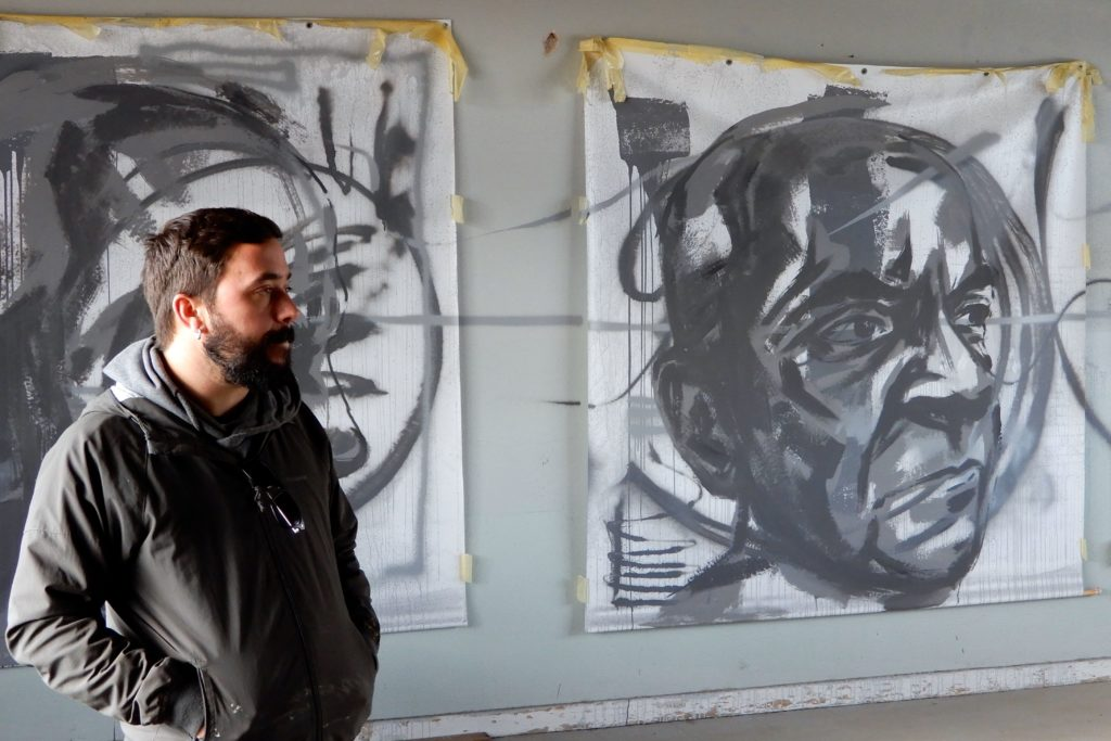 Visual artist Frederico Draw.