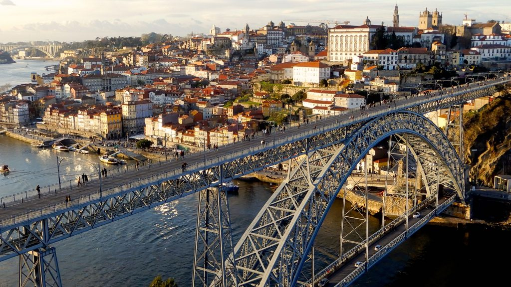 Ponte Dom Luís I, Porto.