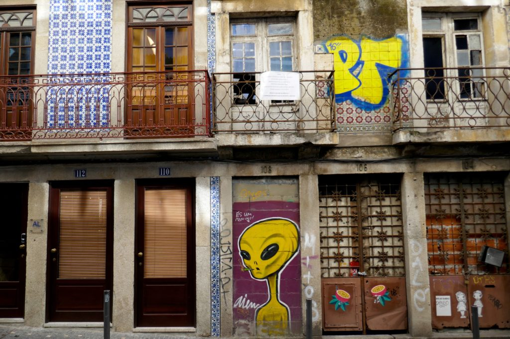 Impressionen aus der Rua Conde de Vizela