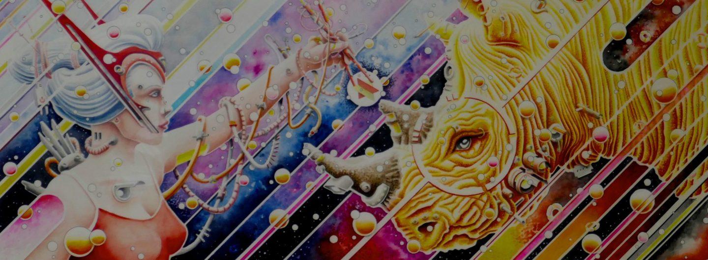 Absinth, ein Hamburger Künstler mit Phantasie und Liebe zum Detail