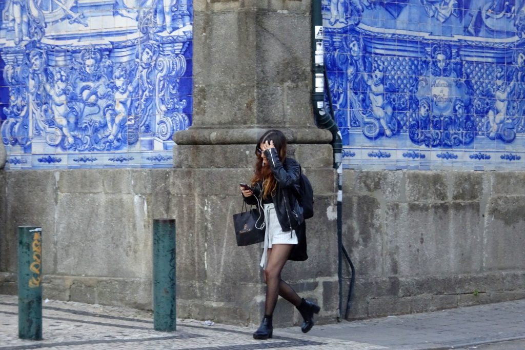 Azulejos in Porto, Capela das Almas.