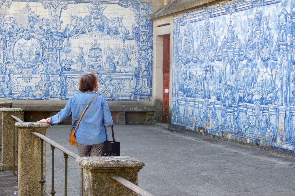 Azulejos in Porto, hier in der Kathedrale, Sé do Porto.