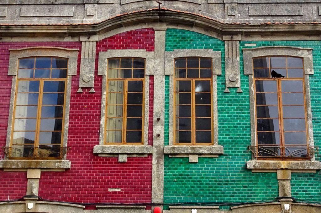 Azulejos in Porto.