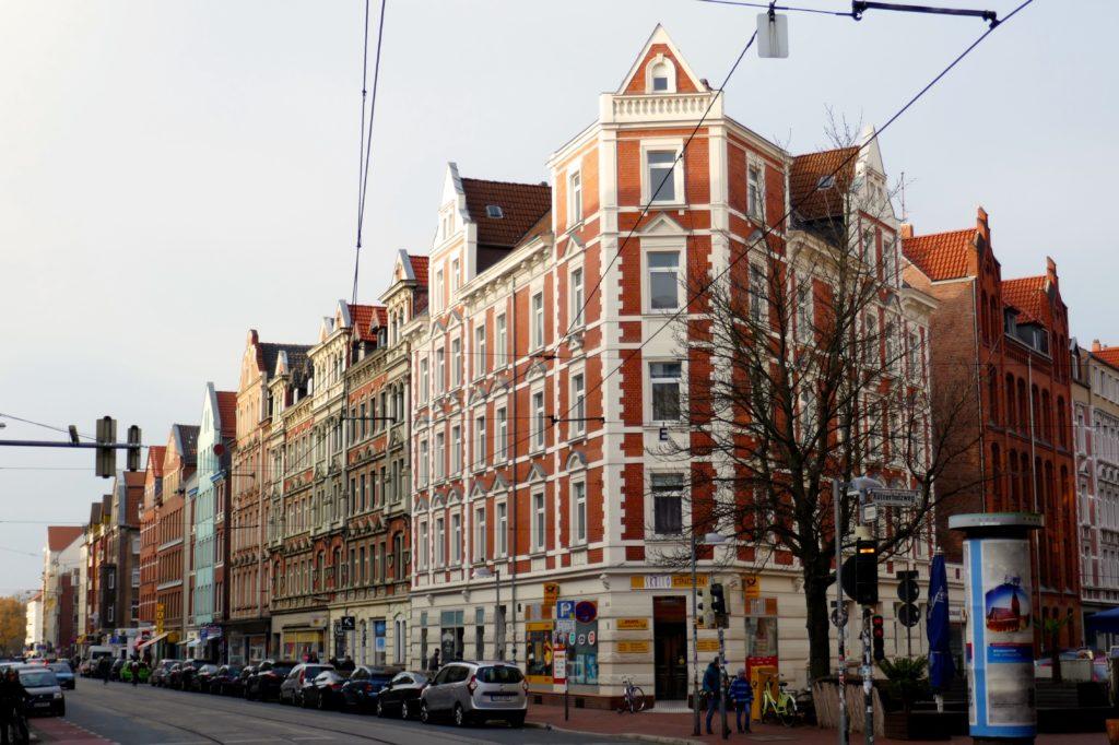 Limmerstraße, Hannover-Linden. Häuser aus der Gründerzeit.
