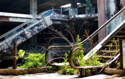 New World Wall, verlassenes Kaufhaus in Bangkok.