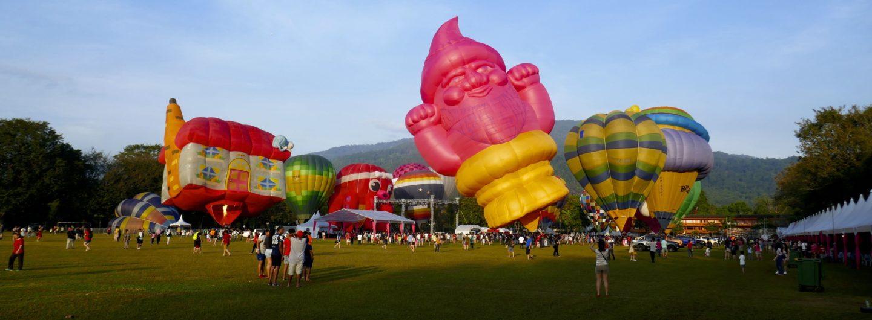 Penang Hot Air Balloon Fiesta: Bunte Ballons über George Town