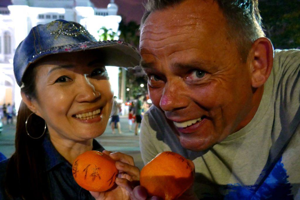 Chap Goh Meh, chinesischer Valentinstag in George Town, Malaysia. Reiseautor und Reiseblogger Wolfgang Käseler.