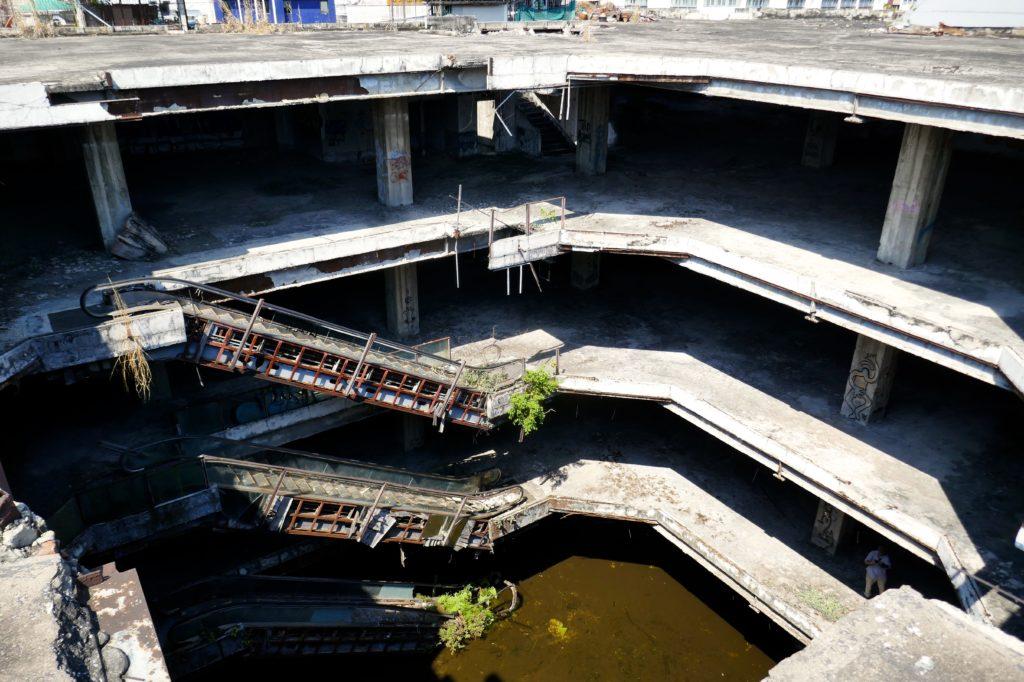 "New World Mall, Bangkok. Auf dem Dach der ""verlorenen neuen Welt""."