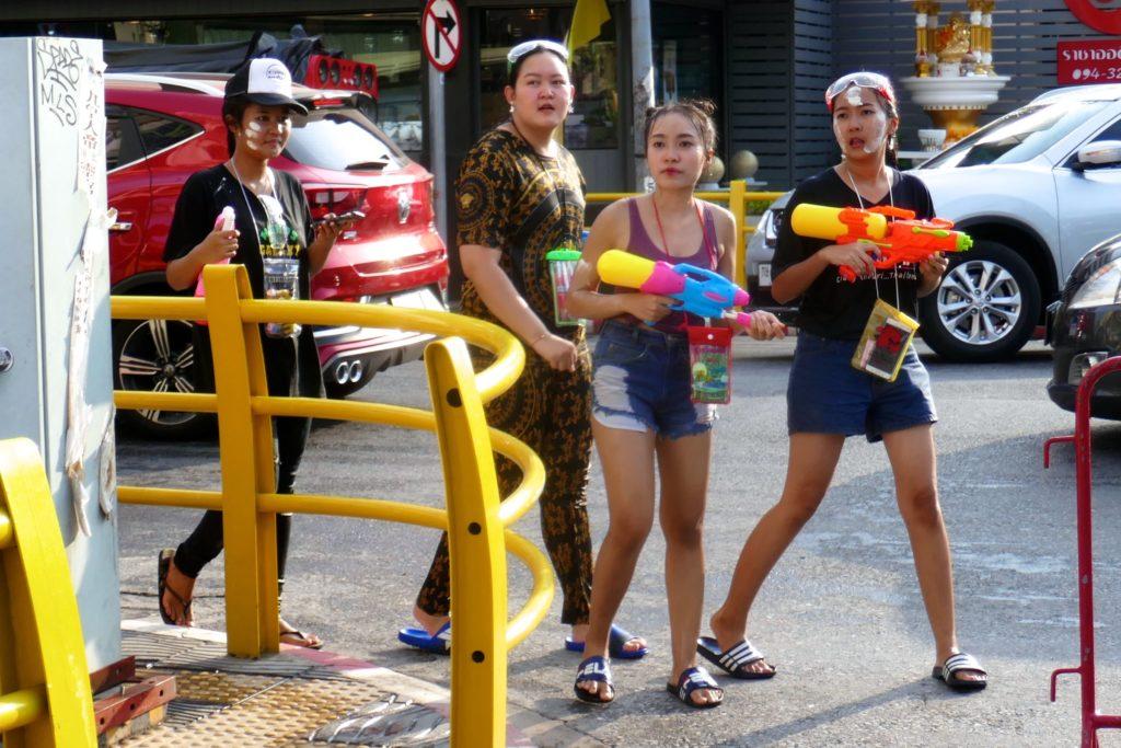 Songkran in Phuket Town: Wo sind die nächsten Opfer?