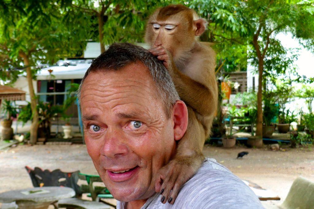 Wolfgang Käseler, Reiseautor, hier in Thailand