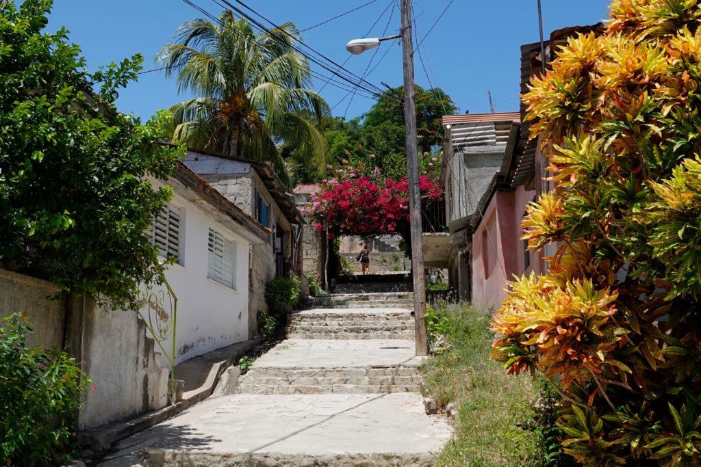 Auf der Insel Cayo Granma.