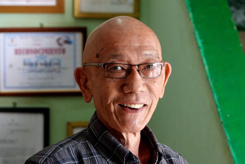 Serafin Chuit, Kubaner mit chinesischen Wurzeln in Havannas Chinatown.