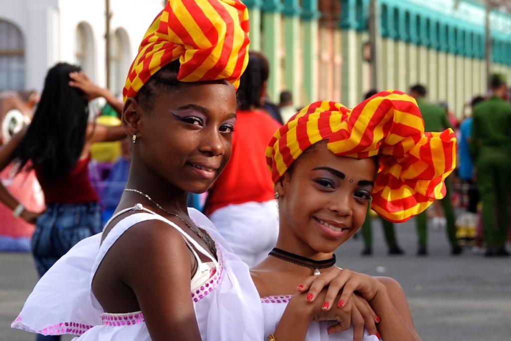 Impressionen vom Karneval in Santiago de Cuba.
