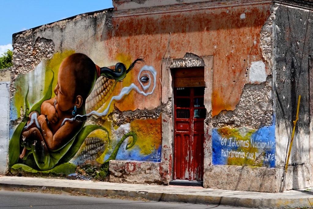 Street Art im mexikanischen Mérida.