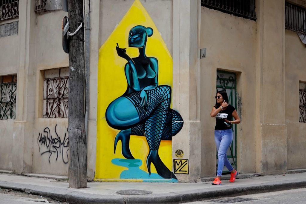 Street Art von Mr. Myl in Havanna.